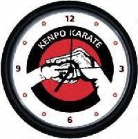 Kenpo Wall Clock