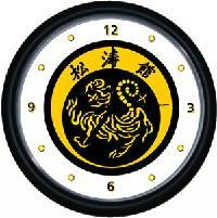 Shotokan Tiger Wall Clock