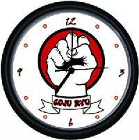 GoJu Ryu Wall Clock