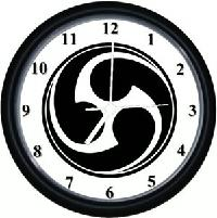 Okinawan Wall Clock