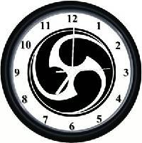 Okinawan Wall Clock