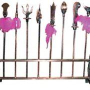 Miniature Kung Fu Weapons Rack-MO55