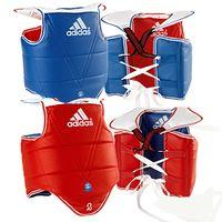 Adidas Chest Guard Rev Blue/Red size 1