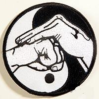Yin/yang with Fist