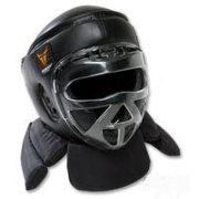 Thunder Combat Head w/Face Shield-Med