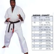 Judo WHITE single weave uniform size 0