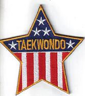 TaeKwonDo Star Patch