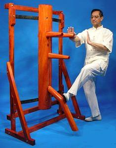 Portable Wing Tsun (Wing Chun) Wooden Dummy