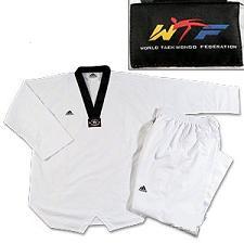 Adidas Fighter Uniform BLACK V-neck size 3