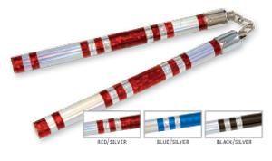 Chrome Stripe Competition Chucks-Blue/Silver