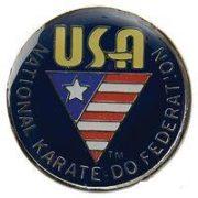 NKF USA Pin - Navy