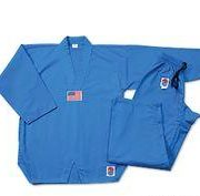 Lightning 7oz. TKD Uniform-Blue size 00