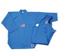 Lightning 7oz. TKD Uniform-Blue size 00