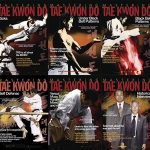 Mastering Tae Kwon Do 10 DVD Std Edition Box