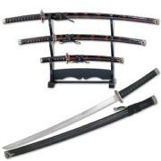 Harai Do Samurai Sword set of 3 blades