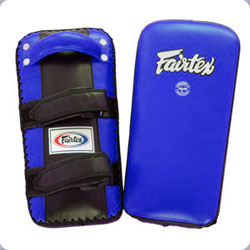 Fairtex Extra-Thick Thai Kick Pads-BLUE