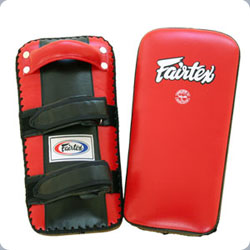 Fairtex Extra-Thick Thai Kick Pads-RED