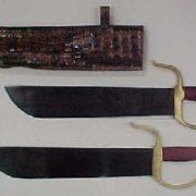 Handmade Deluxe Butterfly Swords