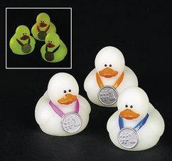 Rubber Duckies - Mini Glow-In-The-Dark Award