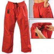 ProForce® Gladiator 8 oz. Combat Pants-Red