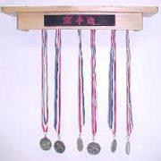 Martial Arts Medals Award Rack