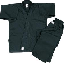 Super MedWeight BLACK Traditional Uniform 9 or 10