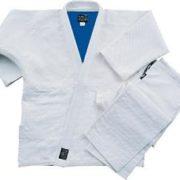 White-Blue Reversible Judo Uniform-size 8