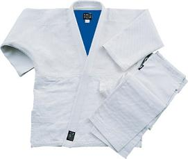 White-Blue Reversible Judo Uniform-size 8