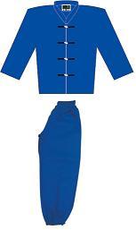 Traditional Kung Fu Uniform Blue