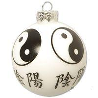 Martial Arts Ornament Ball Ying & Yang