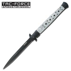 Tac-Force Stiletto Knife Pearl White