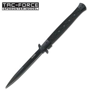 Tac-Force Stiletto Knife BLACK