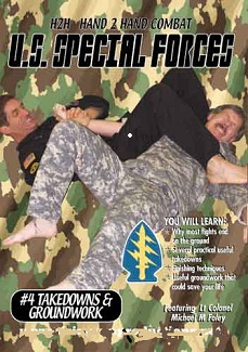 US Special Forces H2H Takedowns-Locks-Arm Bars DVD