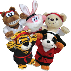Karate Kritters / Plush / Pillowcases