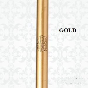 Competition Bo Staff with Vegas Gold Finish