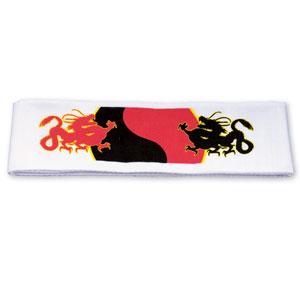Yin Yang Dragon Headband