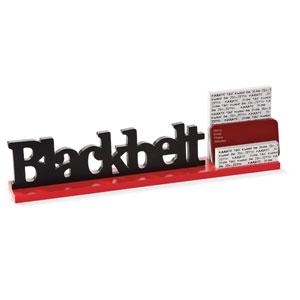 Blackbelt Business Card Holder