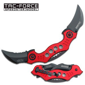 Wing Knife Red