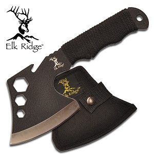 Elk Ridge 8 inch Steel AXE w/Nylon Sheath