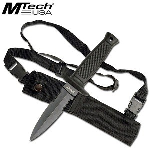 M-Tech Shoulder Harness Knife