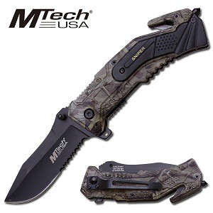 MTech Sniper Rescue Knife