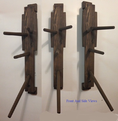 Wall Mount Practice Wooden Dummy