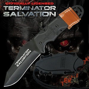 Official Terminator Salvation Movie Knife
