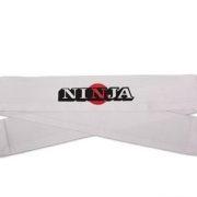 Ninja Headband - White w/Sun