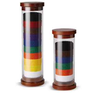 Cylinder Rank Belt Display - 6 Belts