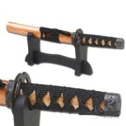 Samurai Letter Opener w/Stand - Natural/Black