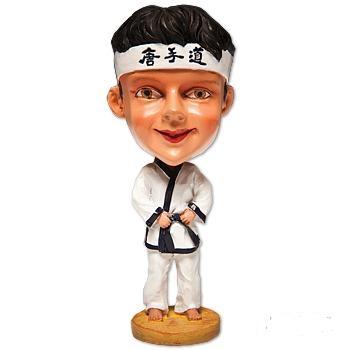 Bobbing Head Martial Artist-Tang Soo Do