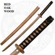 Red Oak Wooden Bokken w/Magnetic Lock