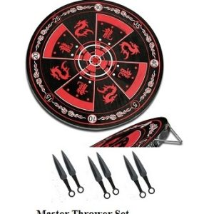 Master Thrower Dart & Throwers Set