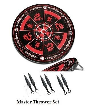 Master Thrower Dart & Throwers Set